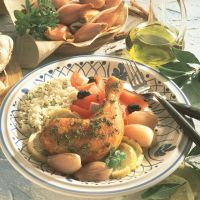 Kemper Maís-Scharrelbout met ui en knoflook - voor 4 personen